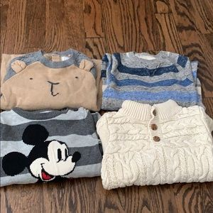 Boys one piece sweaters 6-12 months